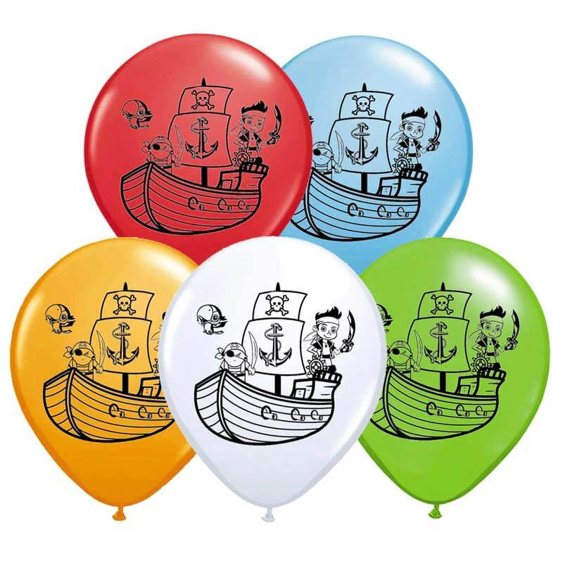 Ballon de baudruche pirate - Jolly Roger