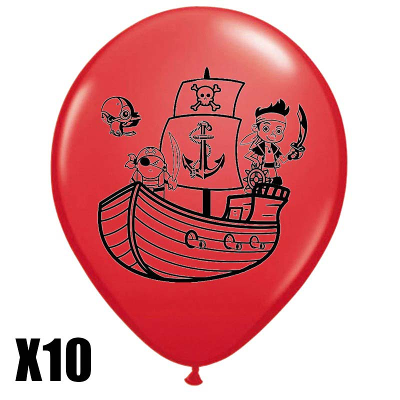Ballon pirate fille - Jolly Roger