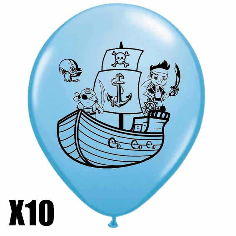 Ballon thème pirate - Jolly Roger
