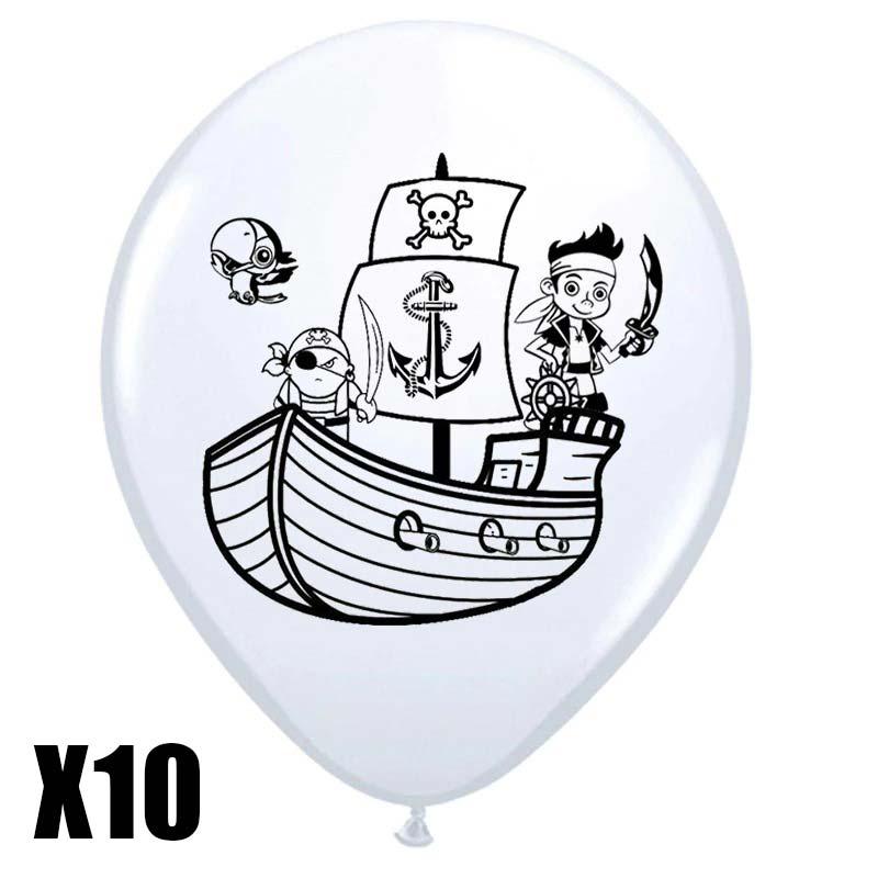 Ballons de baudruche pirate - Jolly Roger
