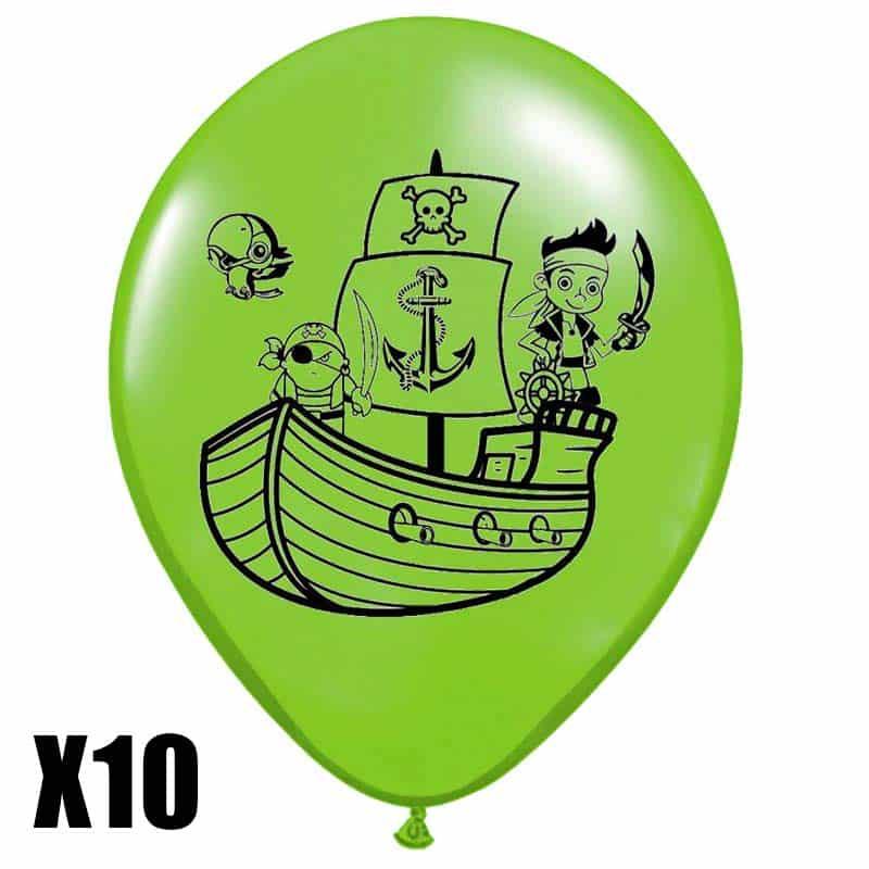 Ballons de baudruche pirates - Jolly Roger