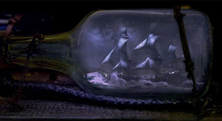 Bateau en bouteille Black Pearl
