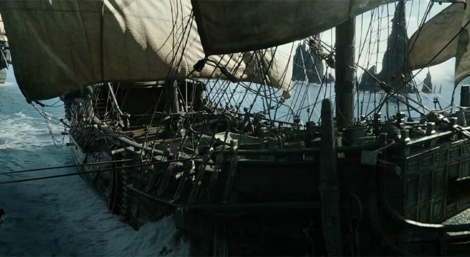 Black Pearl Bateau Pirate des Caraïbes