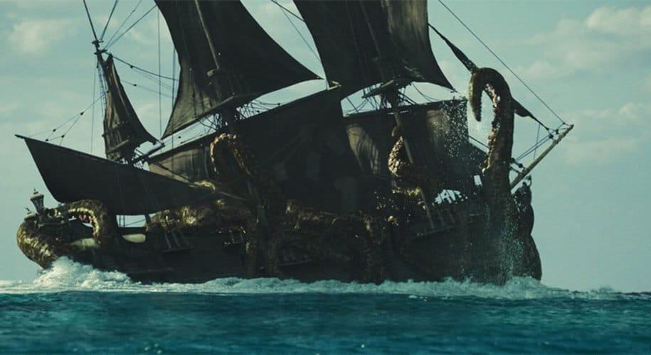 Black Pearl vs Kraken