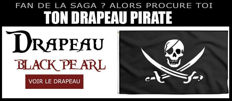 Drapeau Pirate Black Pearl - Pavillon Black Pearl