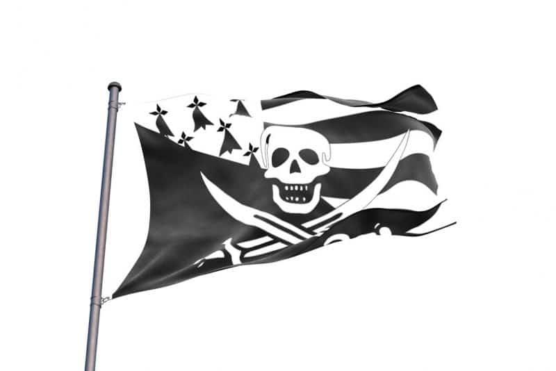 Drapeau Breton Pirate - Jolly Roger