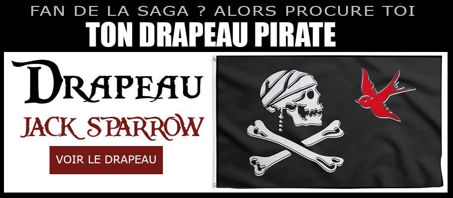 Drapeau Jack Sparrow - Drapeau Pirate Jack Sparrow - Pavillon Jack Sparrow
