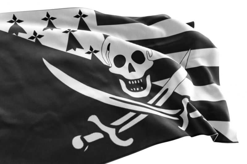 Drapeau Breton Pirate à vendre - Jolly Roger