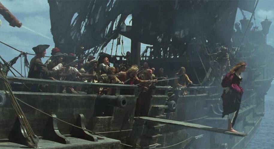 Pirates des Caraibes la Malédiction du Black Pearl
