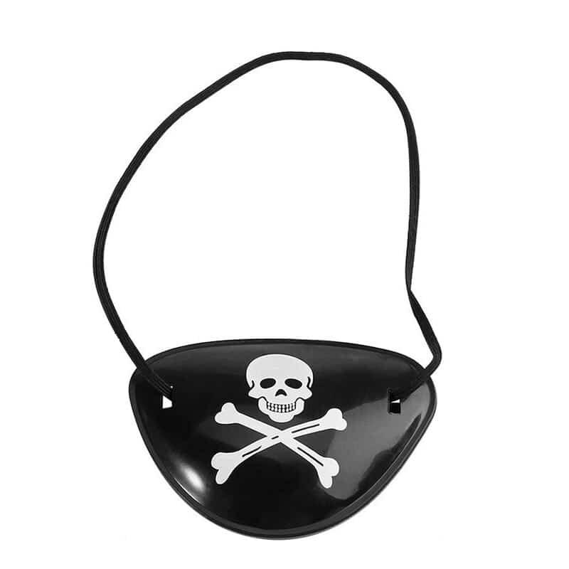 Cache Oeil des Pirates - Accessoire Pirate - Jolly Roger