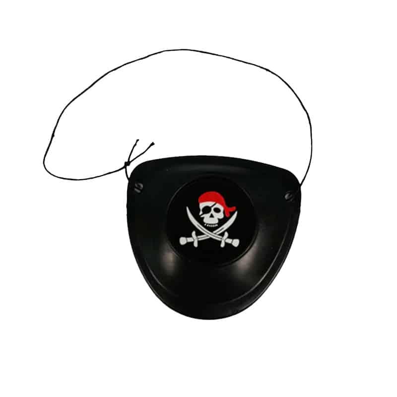 Cache Oeil Pirate Enfant - Accessoire Pirate - Jolly Roger