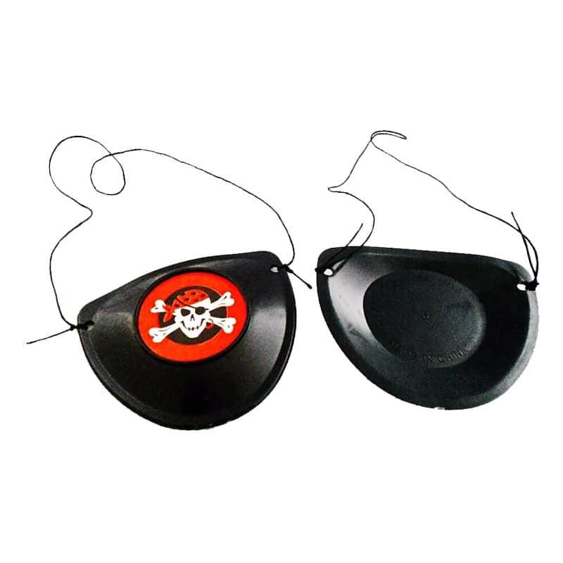 Cache Oeil Pirate Fiesta - Accessoire Pirate - Jolly Roger