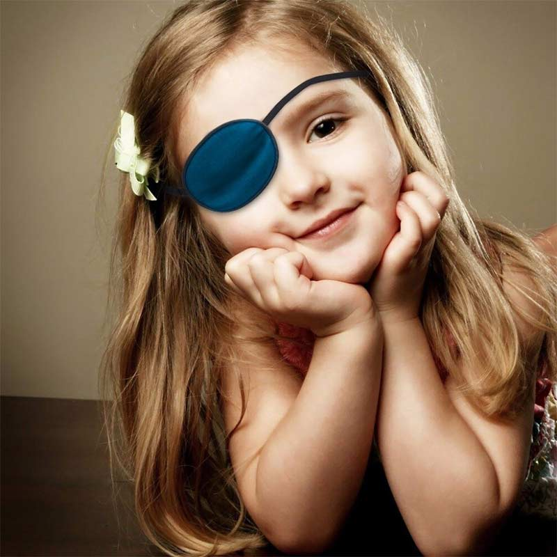 Cache Oeil Pirate Fille - Accessoire Pirate - Jolly Roger