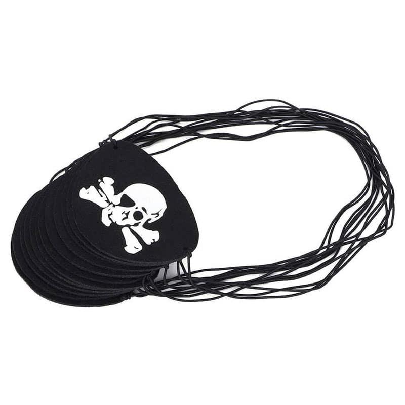 Cache Oeil Pirates Enfants - Accessoire Pirate - Jolly Roger
