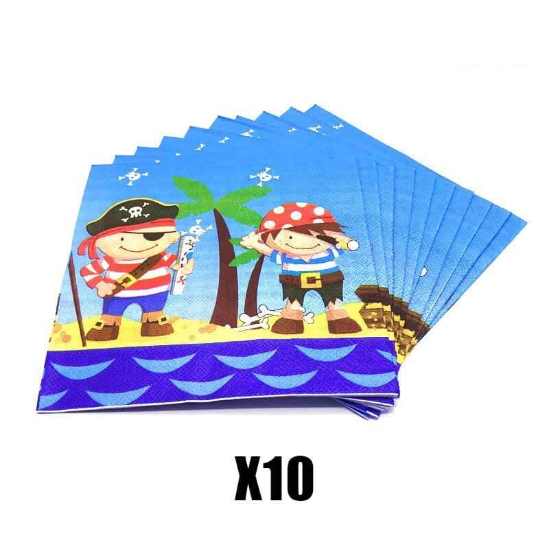 Déco Anniversaire Enfant Pirate - Jolly Roger