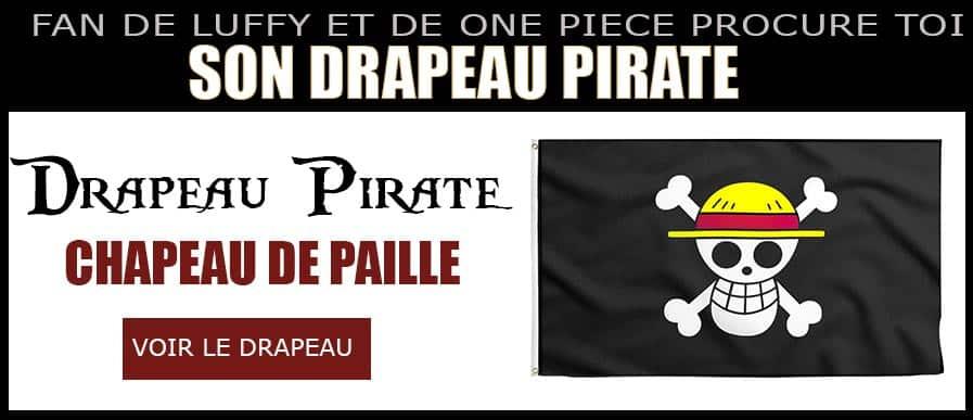 Drapeau de Luffy One Piece