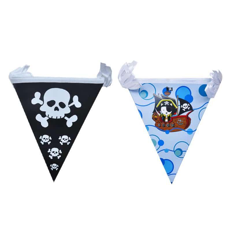 Kit déco anniversaire pirate - Jolly Roger