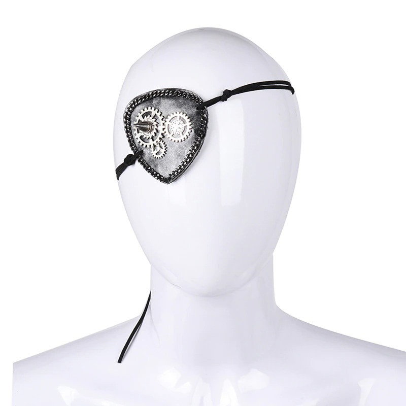 Masque Cache Oeil Pirate - Accessoire Pirate - Jolly Roger