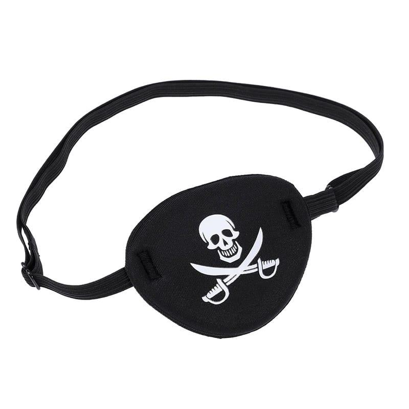 Pirate Cache Oeil - Accessoire Pirate - Jolly Roger