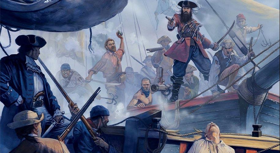 Pirate Edward Teach