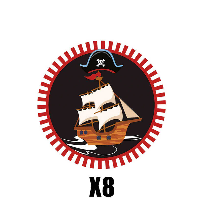 Vaisselle Pirate - Jolly Roger