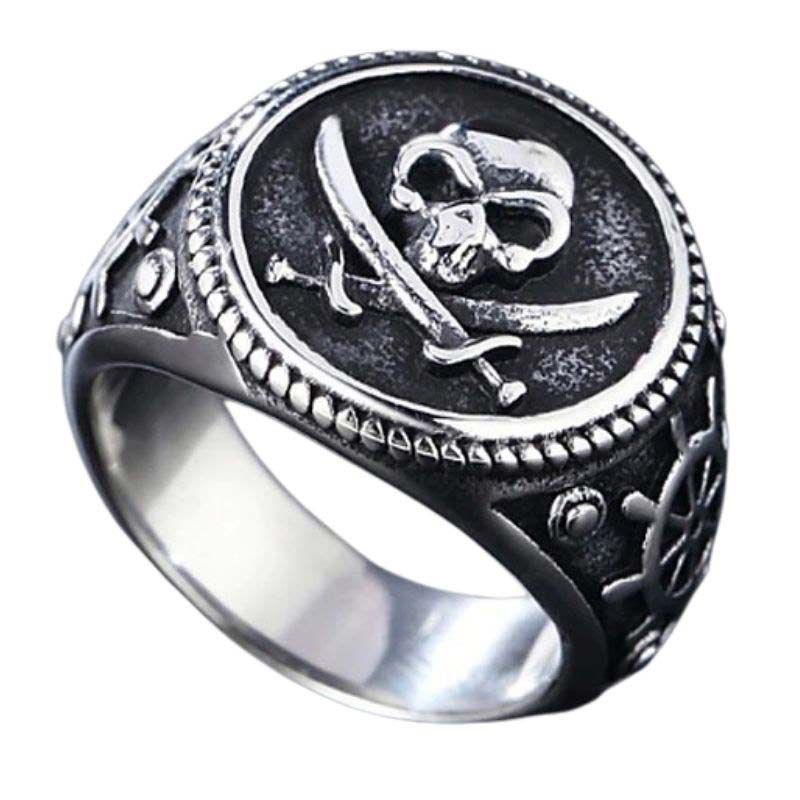 Bague Époque Pirate - Bague Pirate - Jolly Roger