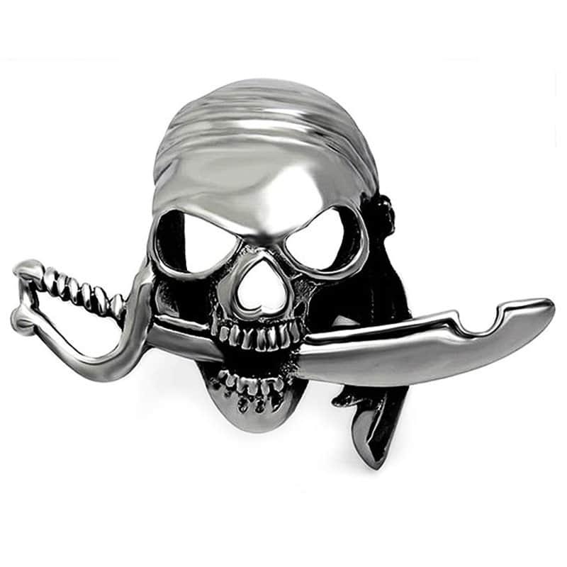 Bague Homme de Pirate - Bague Pirate - Jolly Roger