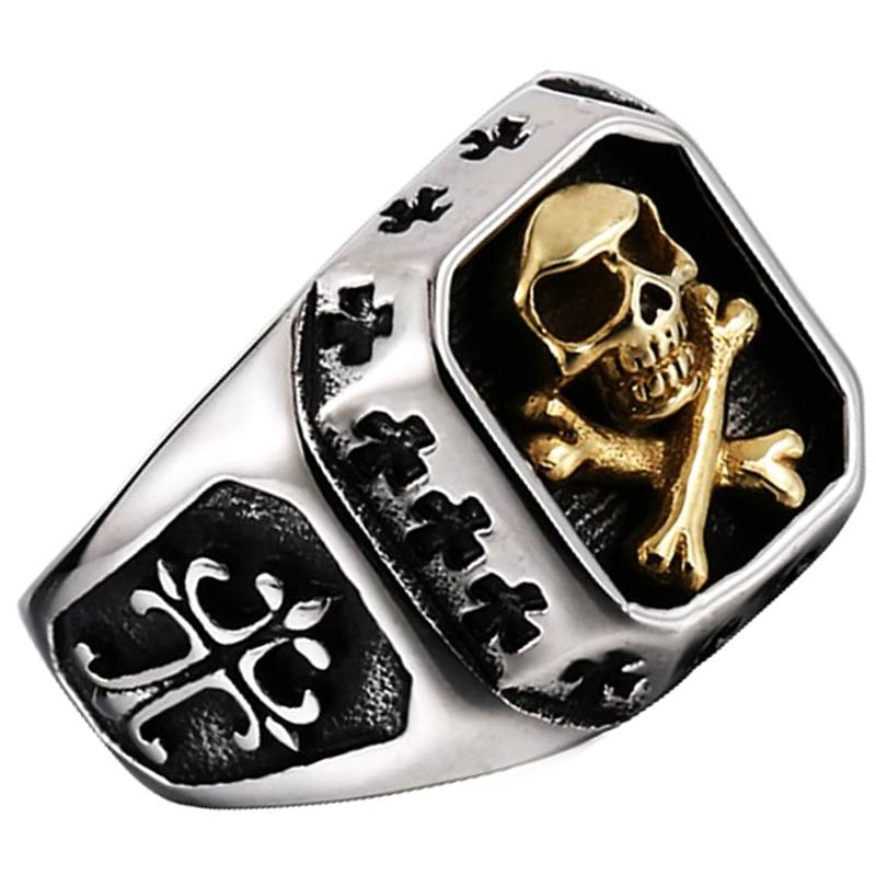 Bague Homme Pirate - Bague Pirate - Jolly Roger