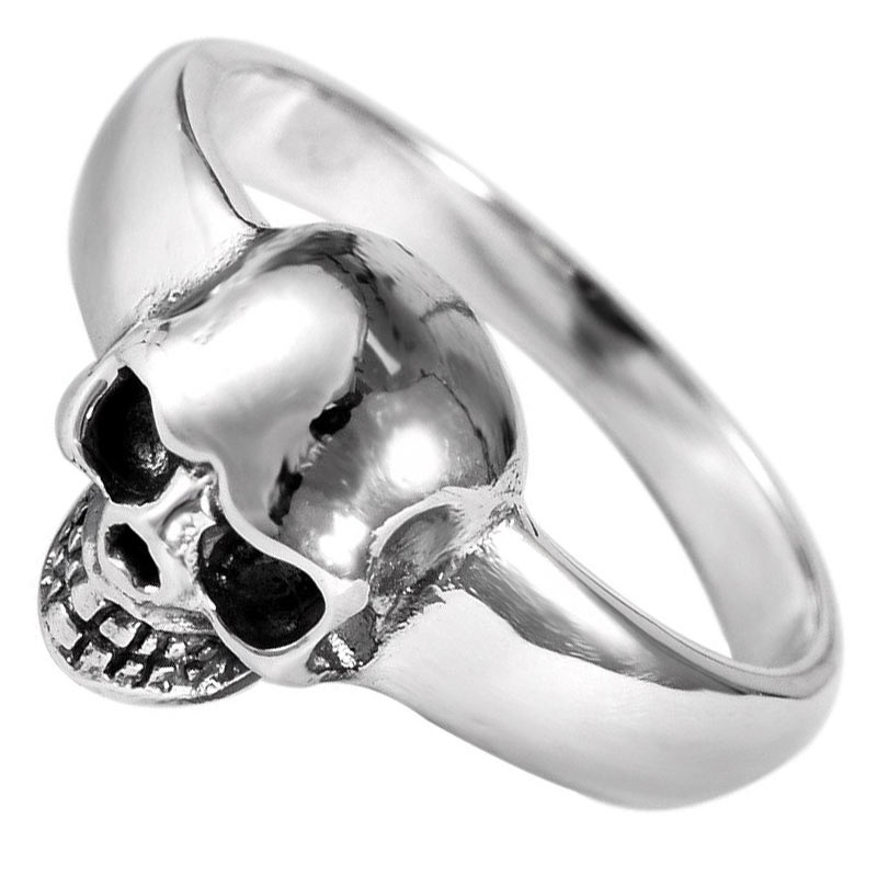 Bague Pirate Argent Homme - Bague Pirate - Jolly Roger