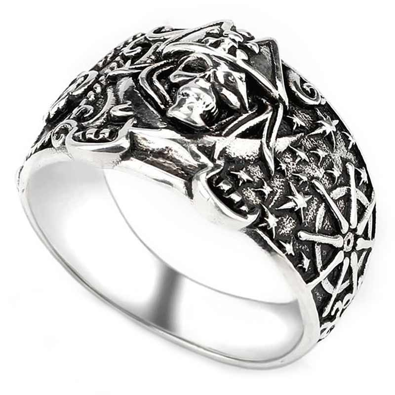 Bague Pirate Argent S925 - Bague Pirate - Jolly Roger