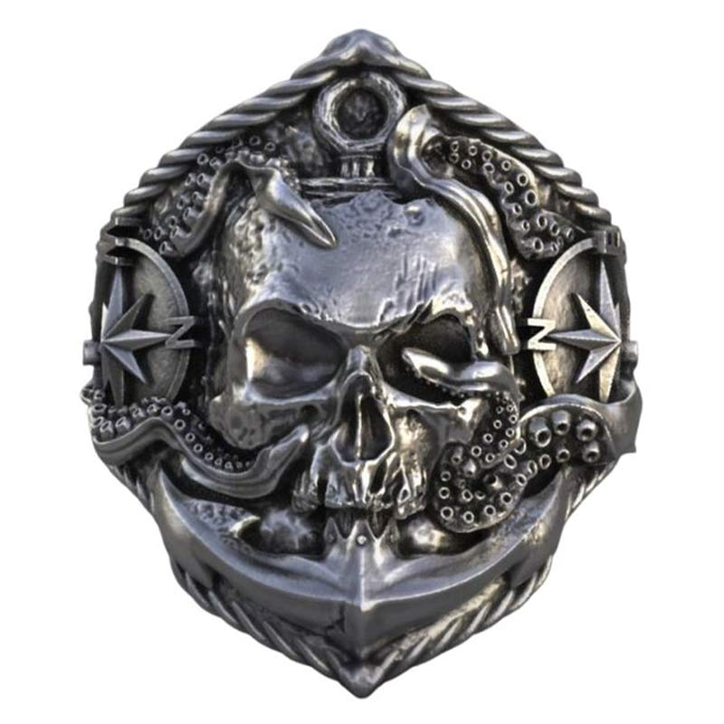 Bague Pirate Homme - Bague Pirate - Jolly Roger