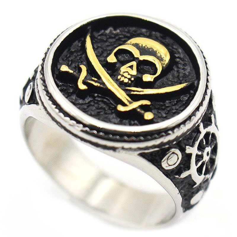 Bague Jolly Roger - Bague Pirate - Jolly Roger