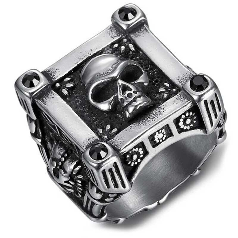Chevalière Homme Pirate - Bague Pirate - Jolly Roger