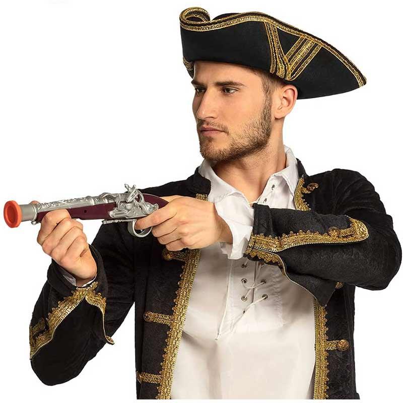 Jouet Pistolet de Pirate - Accessoire Pirate - Jolly Roger