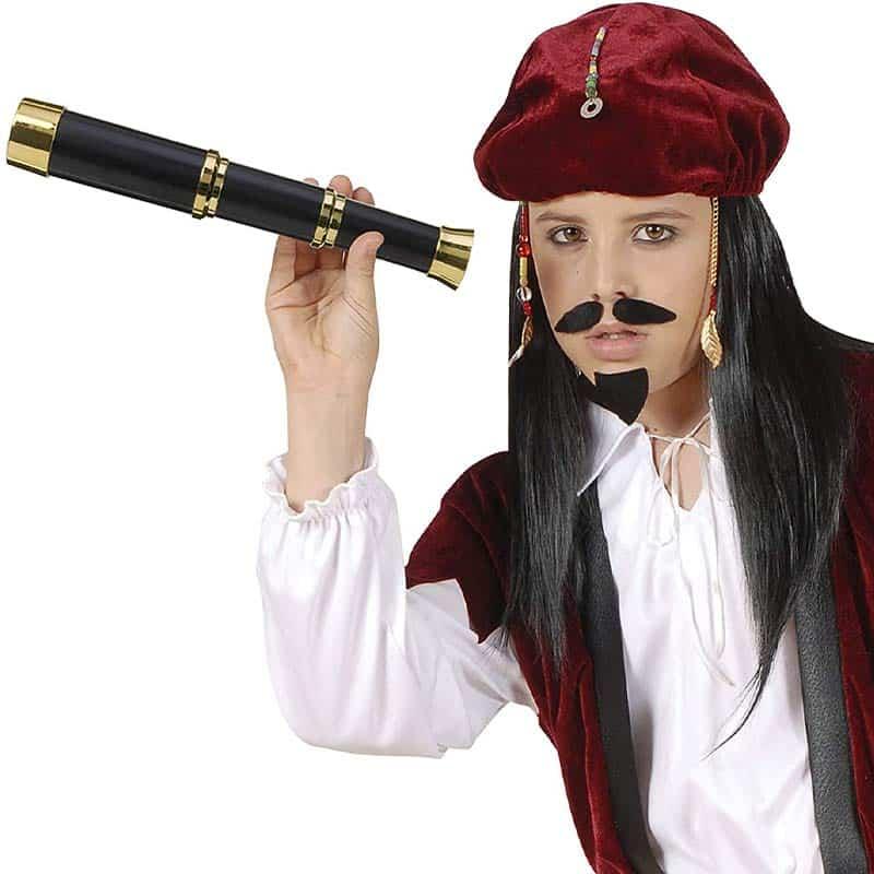 Longue Vue de Pirate Jouet - Accessoire Pirate - Jolly Roger