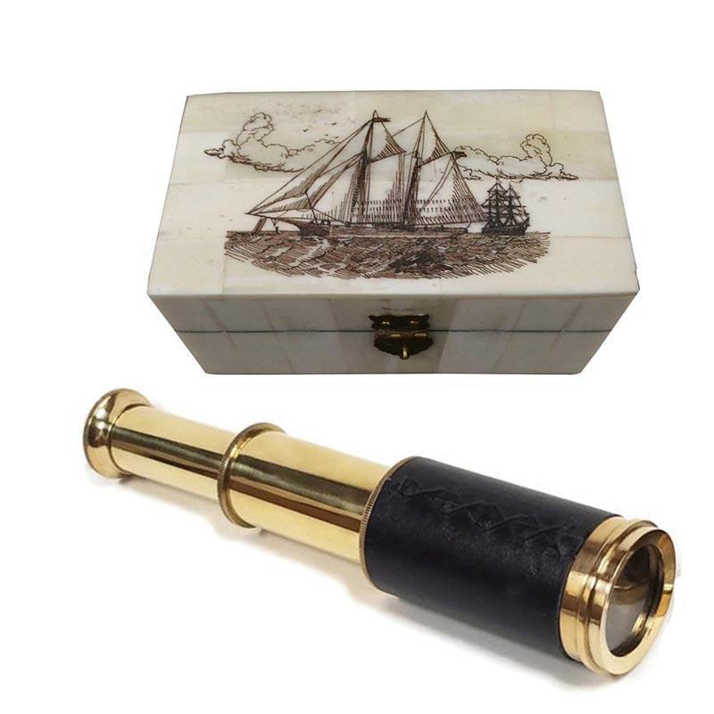 Longue Vue des Pirates - Accessoire Pirate - Jolly Roger