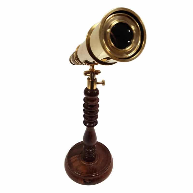 Longue Vue sur Pied - Accessoire Pirate - Jolly Roger