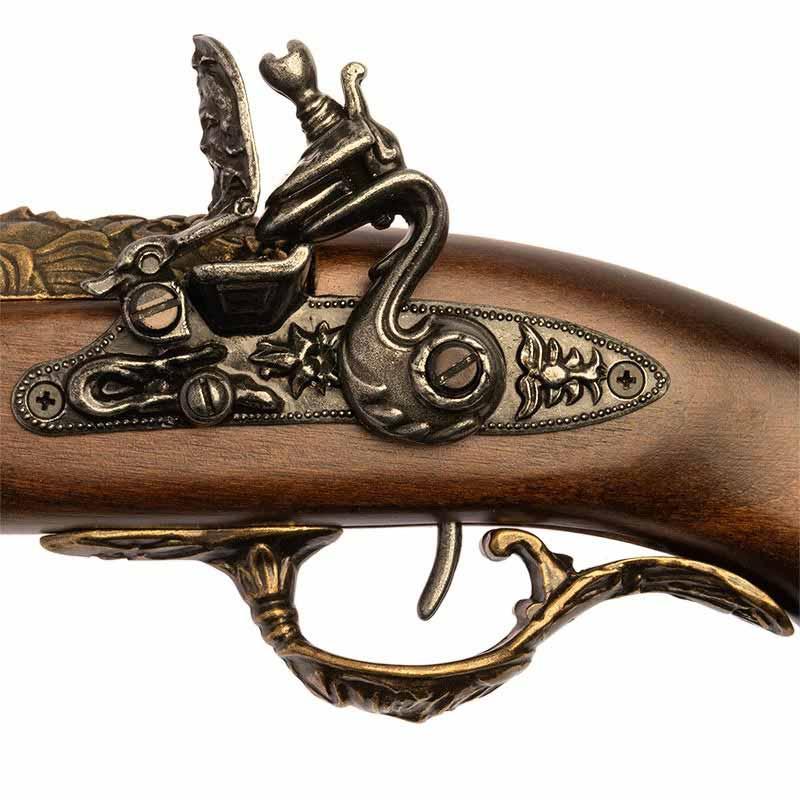 Pistolet à silex Pirate - Accessoire Pirate - Jolly Roger