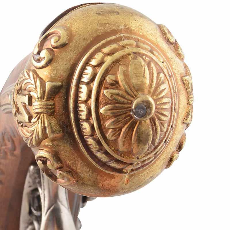 Pistolet Ancien de Collection Pirate - Accessoire Pirate - Jolly Roger
