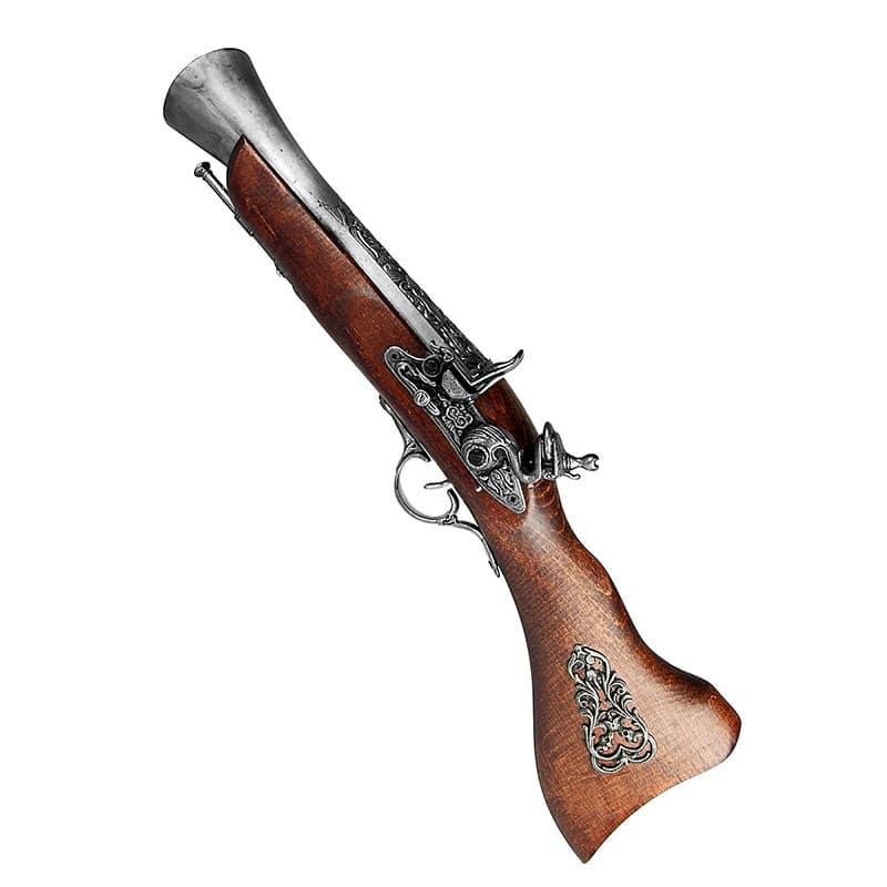 Pistolet de Pirate des Caraïbes - Accessoire Pirate - Jolly Roger