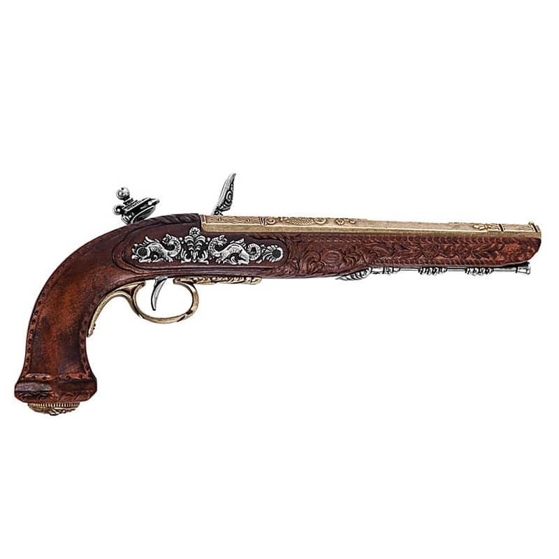 Pistolet de Pirate Duel - Accessoire Pirate - Jolly Roger