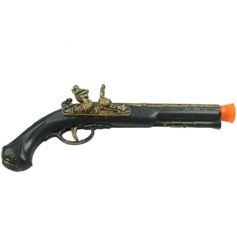 Pistolet de Pirate pour Enfants - Accessoire Pirate - Jolly Roger