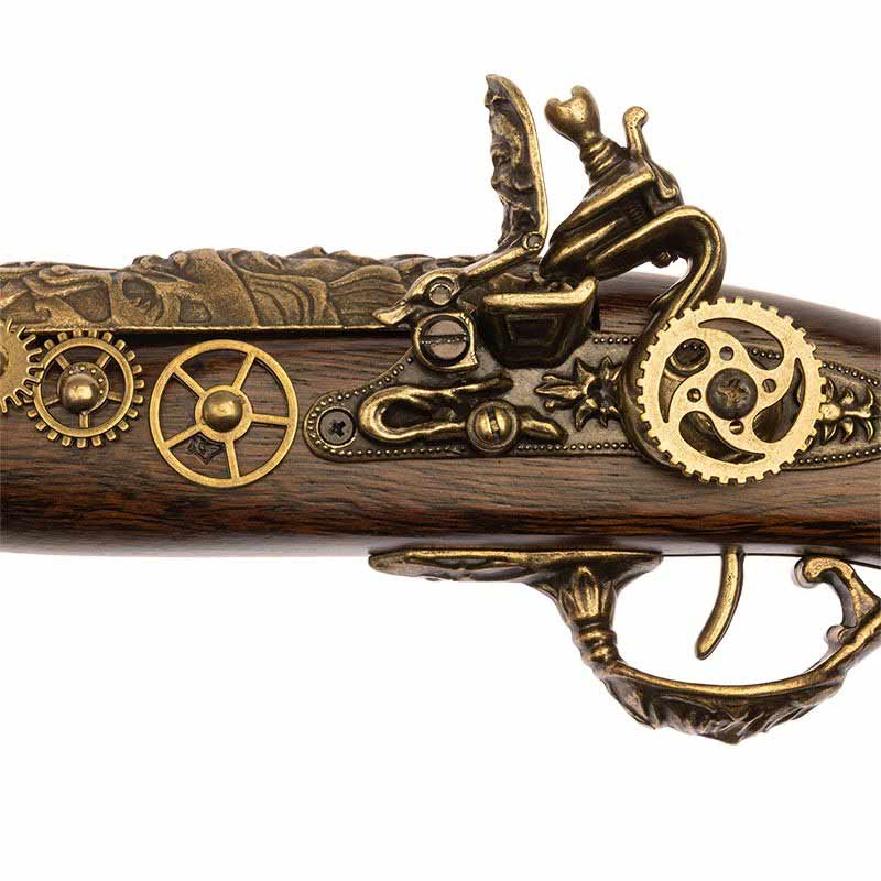 Pistolet Pirate Steampunk - Accessoire Pirate - Jolly Roger