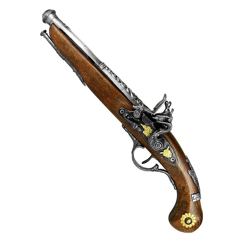 Réplique Pistolet de Pirate - Accessoire Pirate - Jolly Roger