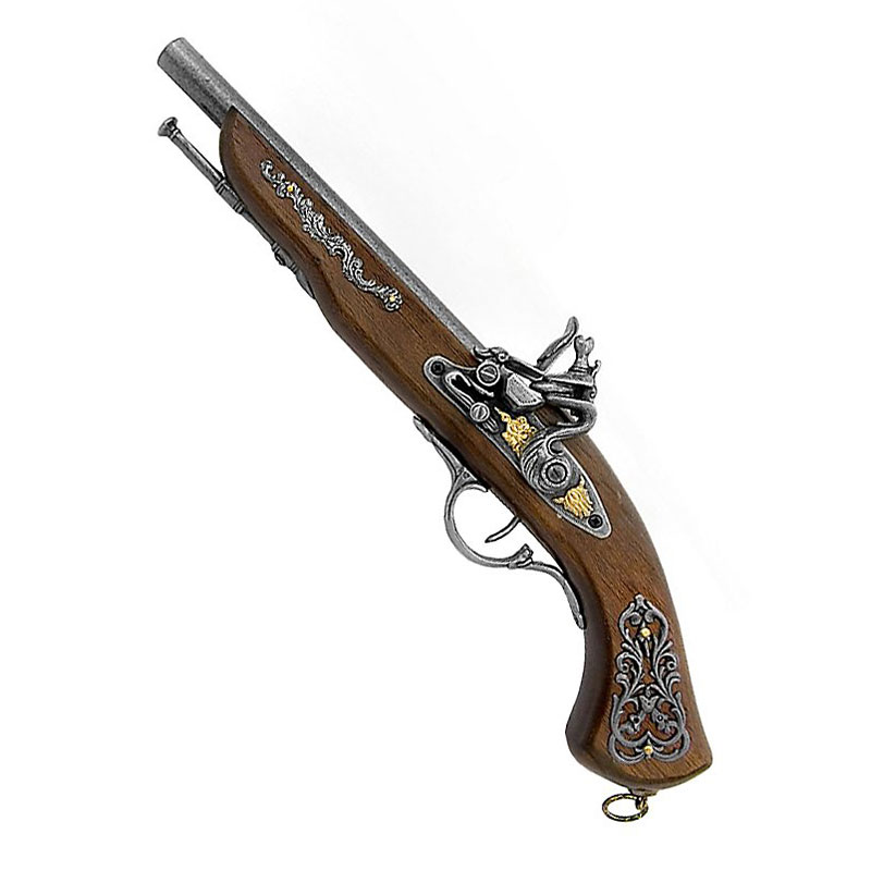 Vrai Pistolet Pirate - Accessoire Pirate - Jolly Roger
