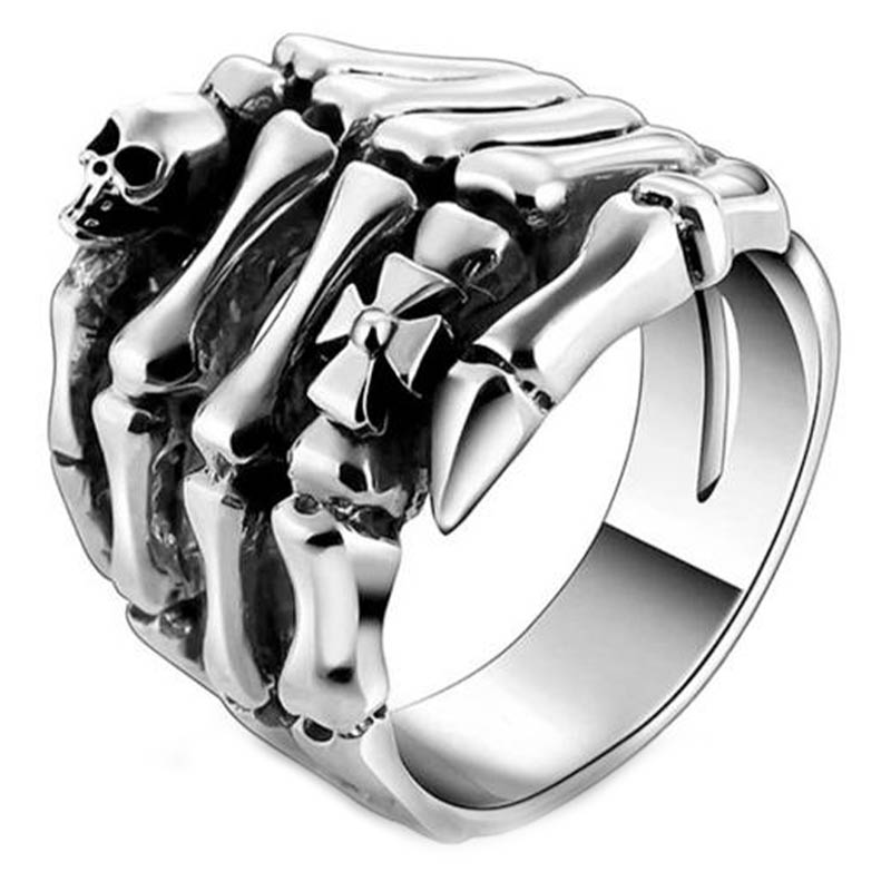 Bague Homme Argent Pirate - Bague Pirate - Jolly Roger