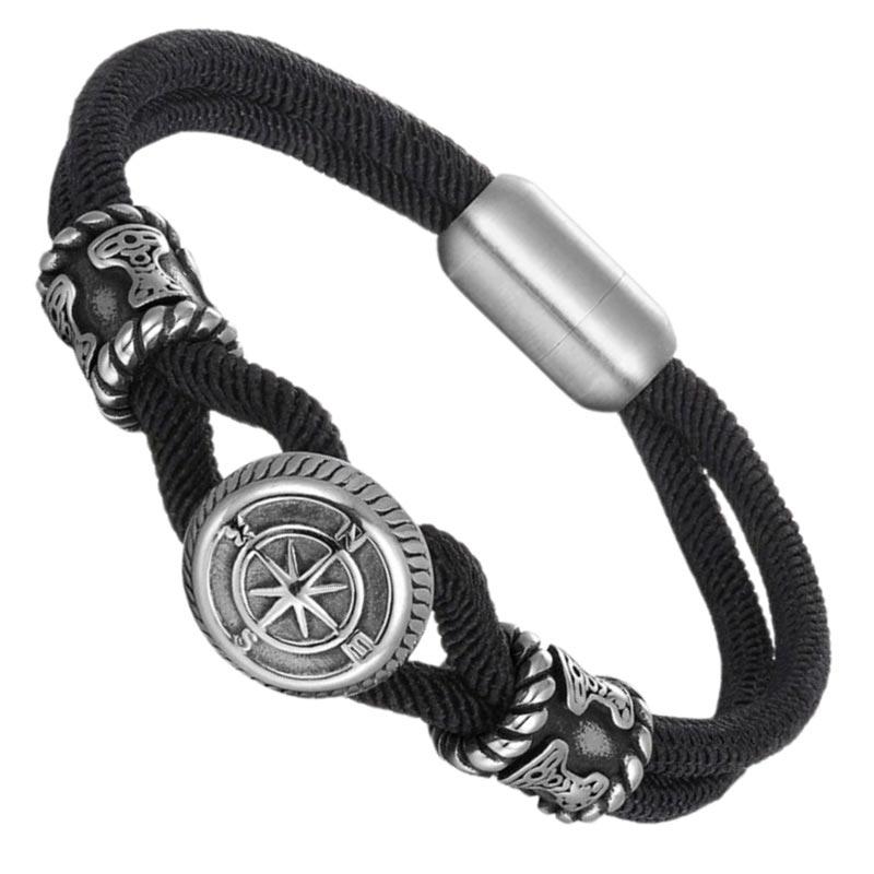 Bracelet Boussole - Bracelet Pirate - Jolly Roger