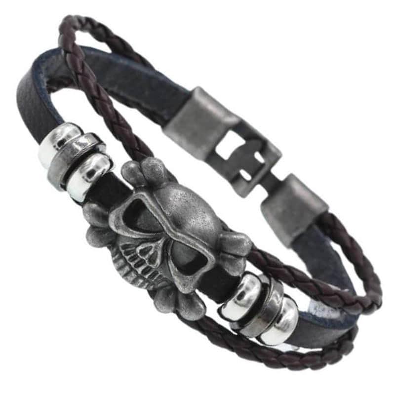 Bracelet Brésilien Pirate - Bracelet Pirate - Jolly Roger