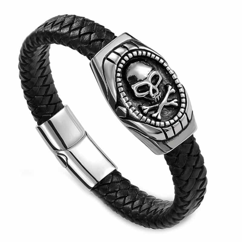 Bracelet Drapeau Pirate - Bracelet Pirate - Jolly Roger