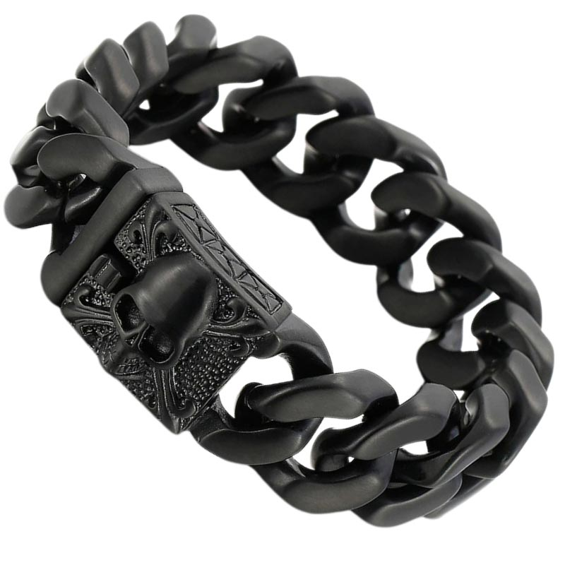 Bracelet Flibustier Homme - Bracelet Pirate - Jolly Roger